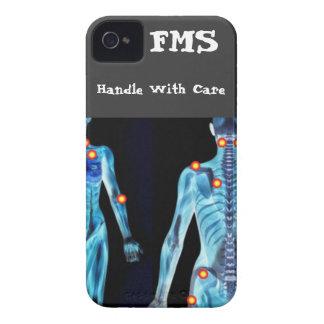 Fibromyalgia - dirija con cuidado Case-Mate iPhone 4 coberturas