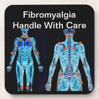 Fibromyalgia - dirija con cuidado posavaso