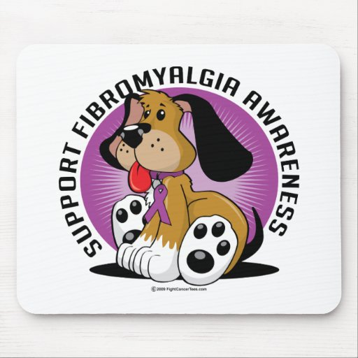 Fibromyalgia Dog Mousepads