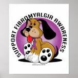 Fibromyalgia Dog Poster