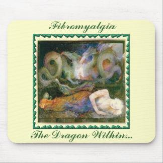 Fibromyalgia, el dragón dentro… alfombrilla de raton