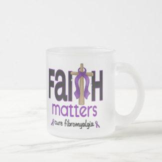 Fibromyalgia Faith Matters Cross 1 Mugs