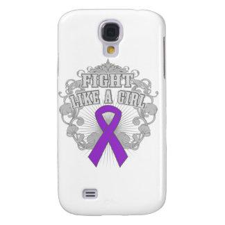 Fibromyalgia Fight Like A Girl Fleurish Samsung Galaxy S4 Cover