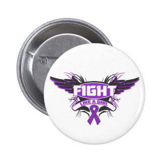 Fibromyalgia Fight Like a Girl Wings.png Buttons