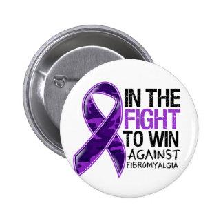 Fibromyalgia - Fight To Win Pins