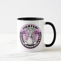 Fibromyalgia Fighter Cat Mug