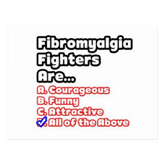 Fibromyalgia Fighter Quiz Postcard