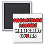 Fibromyalgia Fighters Make Great Lovers Fridge Magnets