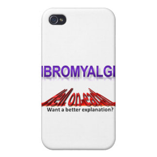 Fibromyalgia Hell On Earth Wear iPhone 4/4S Cases