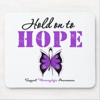 Fibromyalgia Hold On To Hope Mouse Pad