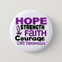 Fibromyalgia HOPE 3 Button