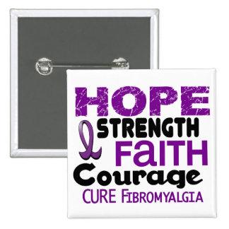 Fibromyalgia HOPE 3 Button