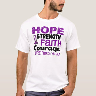 Fibromyalgia HOPE 3 T-Shirt