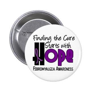 Fibromyalgia HOPE 4 Button