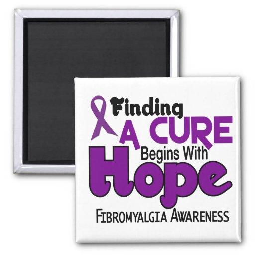 Fibromyalgia HOPE 5 Refrigerator Magnets
