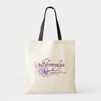 Fibromyalgia, Hoping for a cure Tote Bag