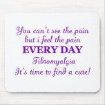 Fibromyalgia - hora para una curación tapetes de ratones