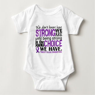 Fibromyalgia How Strong We Are Baby Bodysuit
