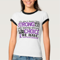 Fibromyalgia How Strong We Are T-shirts