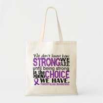 Fibromyalgia How Strong We Are Tote Bag