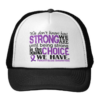Fibromyalgia How Strong We Are Trucker Hat