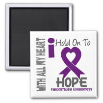 Fibromyalgia I Hold On To Hope Magnet