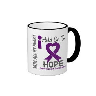 Fibromyalgia I Hold On To Hope Mug