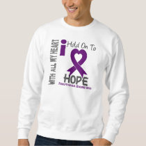 Fibromyalgia I Hold On To Hope Sweatshirt
