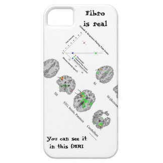 Fibromyalgia is real fMRI proof iPhone 5 Cases