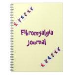 Fibromyalgia Journal Note Book Butterflies
