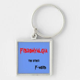 Fibromyalgia keychain