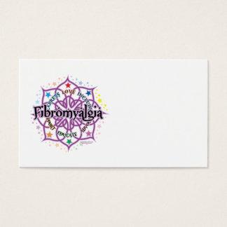 Fibromyalgia Lotus Business Card