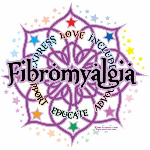 Fibromyalgia Lotus Photo Cut Outs