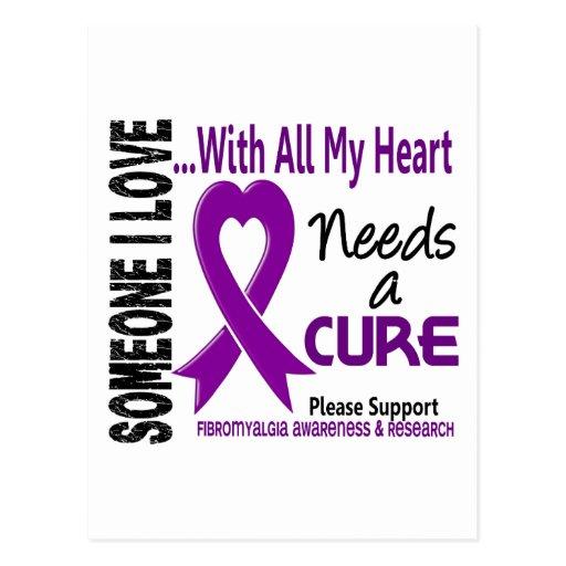 Fibromyalgia Needs A Cure 3 Postcard