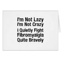 Fibromyalgia - Not Lazy 1