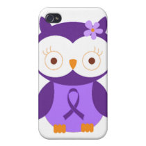 Fibromyalgia Owl iPhone 4 Cover