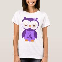 Fibromyalgia Owl T-Shirt