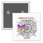FIBROMYALGIA PIN OF HOPE - WHITE