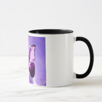 Fibromyalgia Purple Butterfly Inspirational Mug