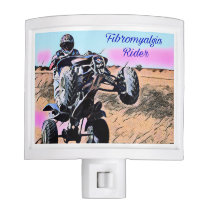 Fibromyalgia Rider Night Light