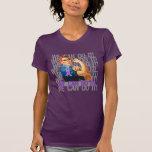 Fibromyalgia Rosie PODEMOS HACERLO Camisetas
