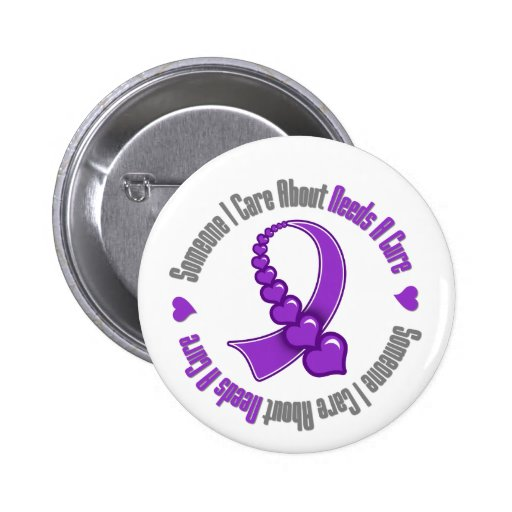 Fibromyalgia Someone I Care About Needs A Cure 2 Inch Round Button