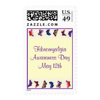 Fibromyalgia Stamps Butterflies