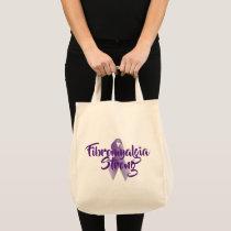 Fibromyalgia Strong Empowering Tote Bag