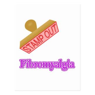 Fibromyalgia Tarjeta Postal