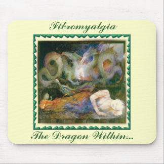 Fibromyalgia, The Dragon Within... Mouse Pad