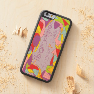 Fibromyalgia: The Other F Word Carved® Maple iPhone 6 Bumper Case