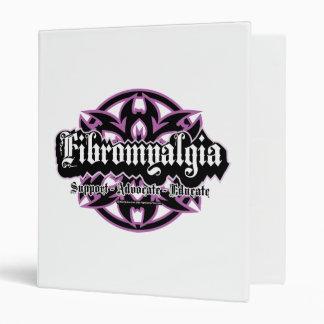 Fibromyalgia Tribal Vinyl Binders