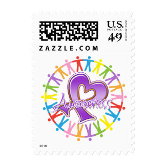 Fibromyalgia Unite in Awareness Stamp