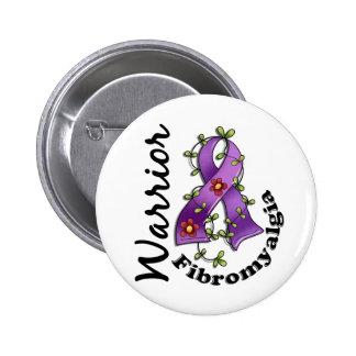 Fibromyalgia Warrior 15 Pinback Button